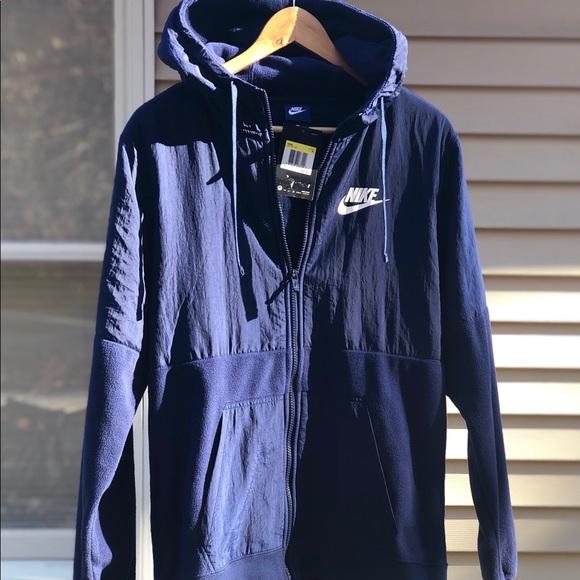 NWT Nike Men's S full zip fleece Jacket NWT